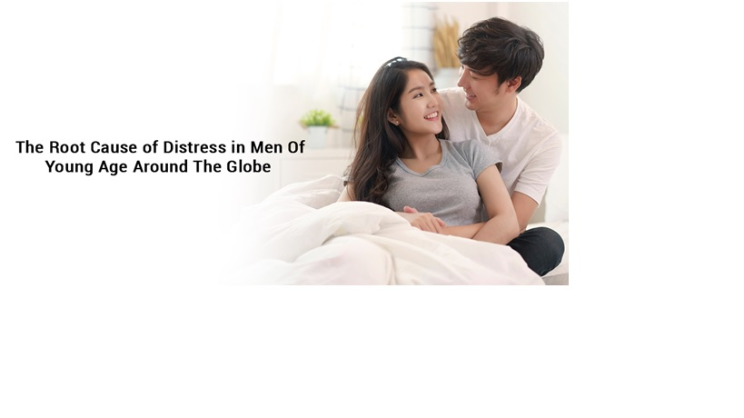 The root cause of distress in men of young age around the globe
